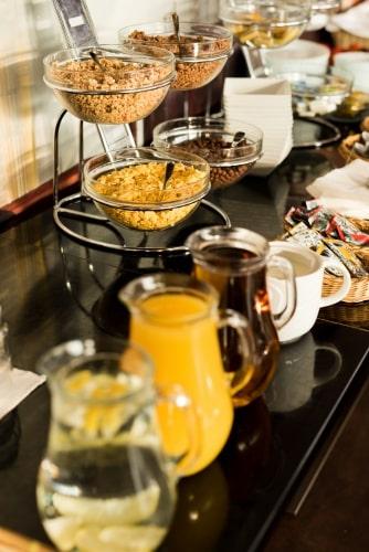 Snídaně - Hotel Steelhouse