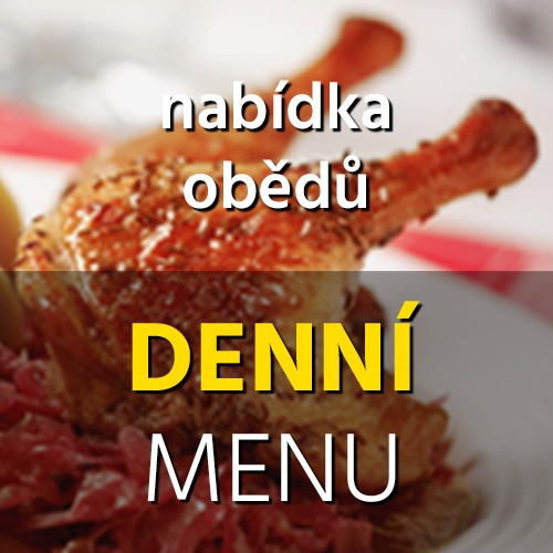 BOHEMIA restaurant Třinec - denní menu